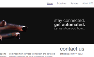Upstate Automation Website